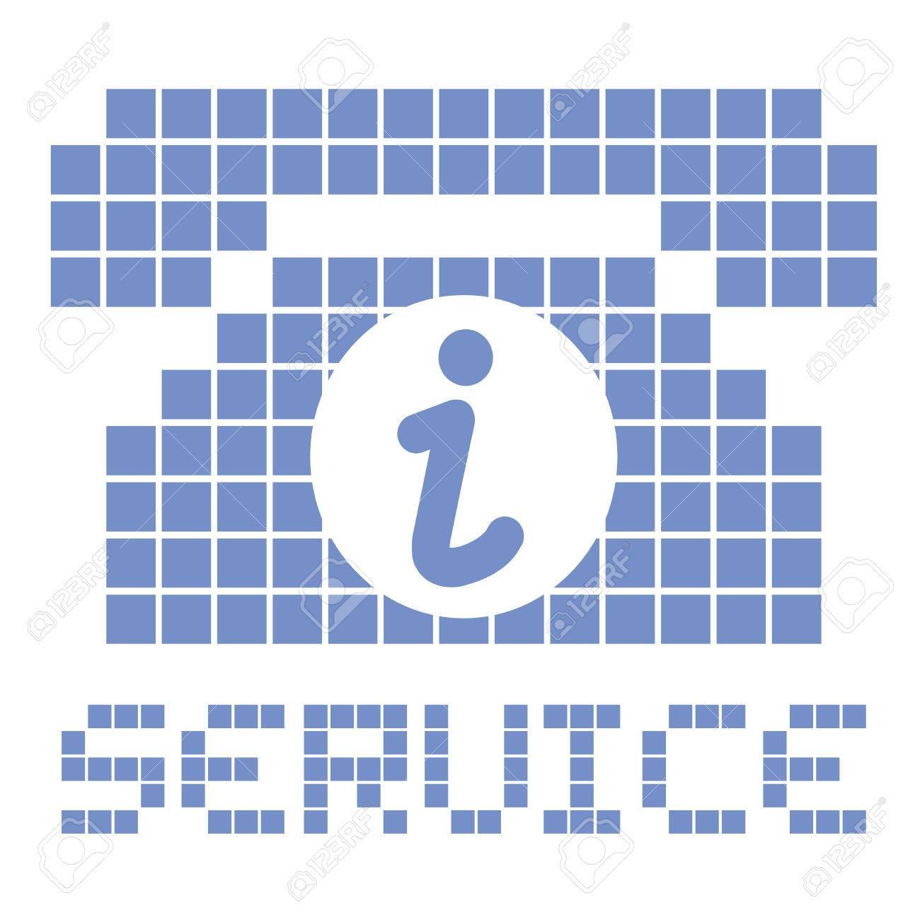 Service phone Stock Vector - 22588799