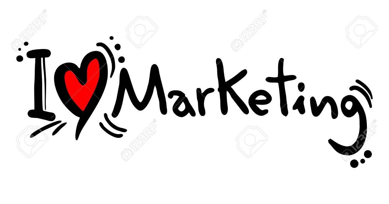I love Marketing - 25698718