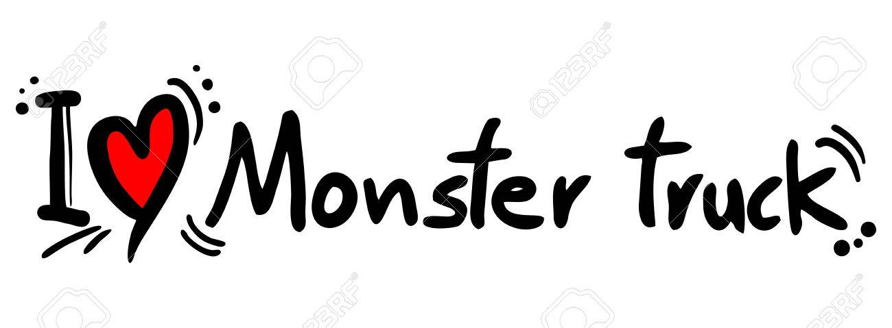 Monster Truck Symbol Royalty Free Cliparts Vectors And Stock