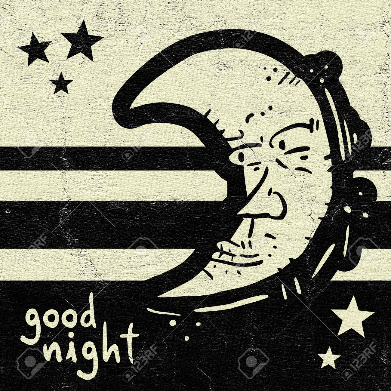 Good Night Symbol Stock Photo Picture And Royalty Free Image Image