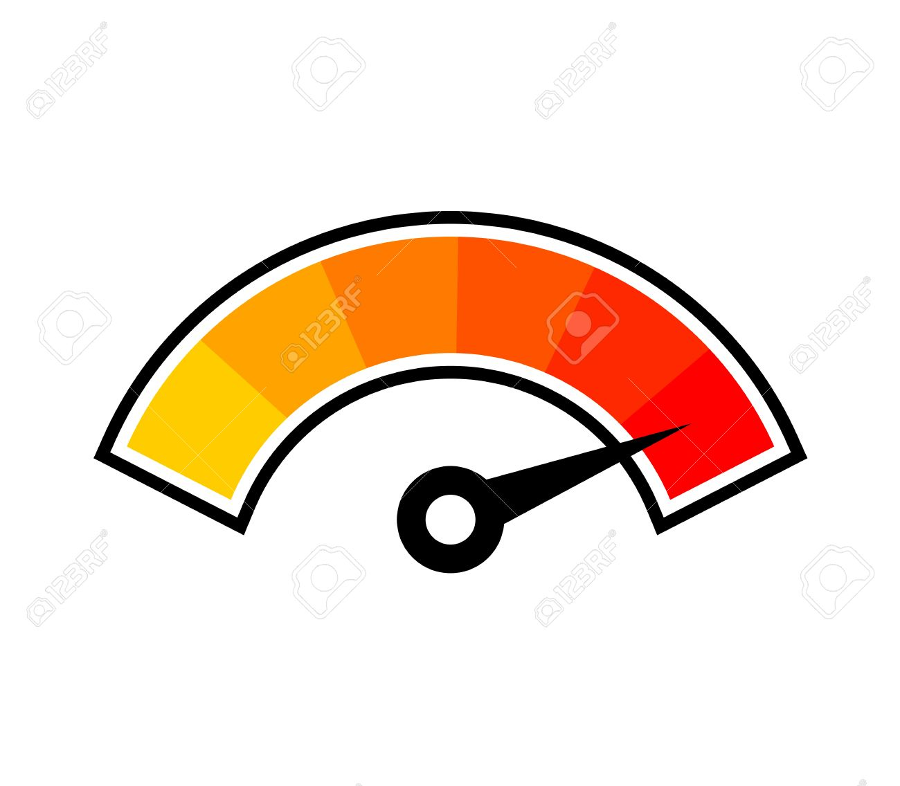 hot temperature symbol - 53859631