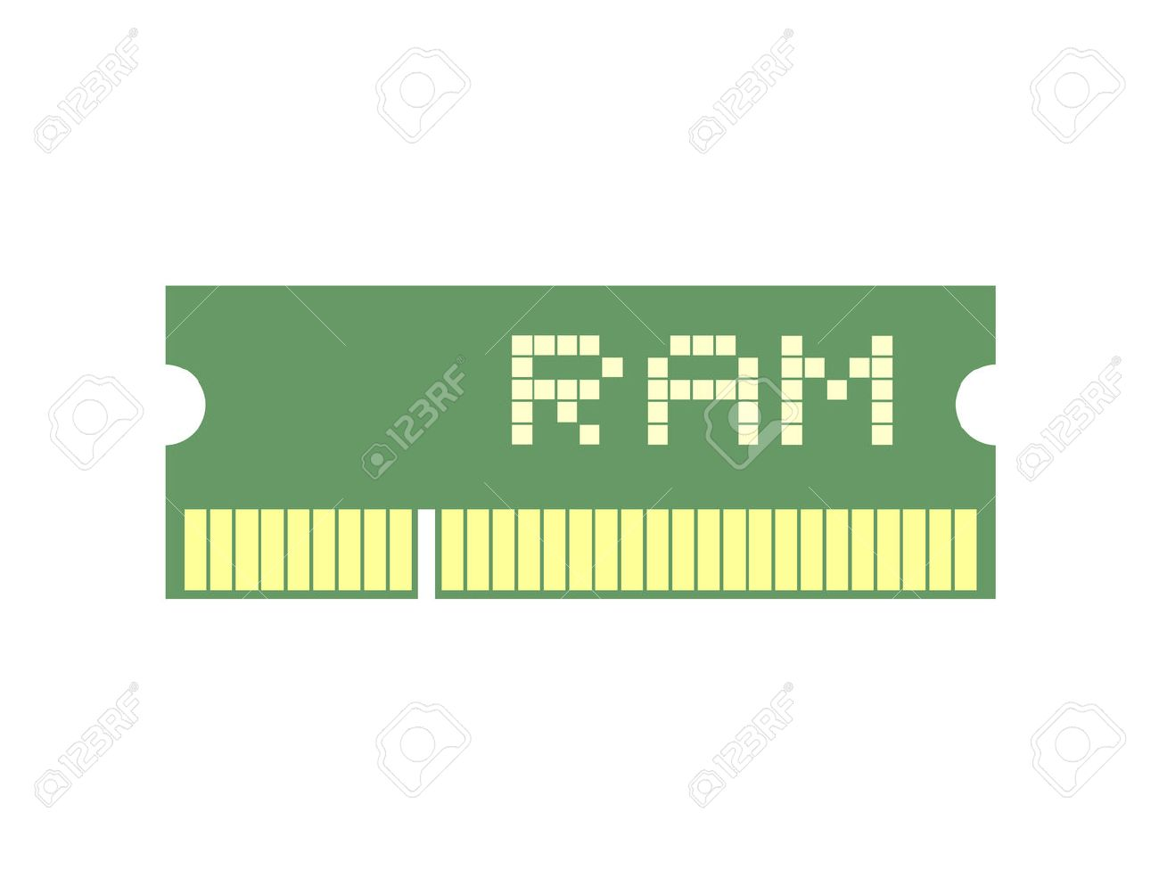 memory ram symbol - 54095514