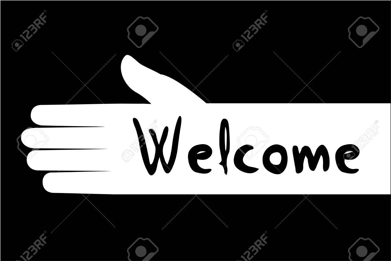 Welcome symbol royalty free cliparts vectors and stock welcome symbol stock vector 62046128 buycottarizona Gallery