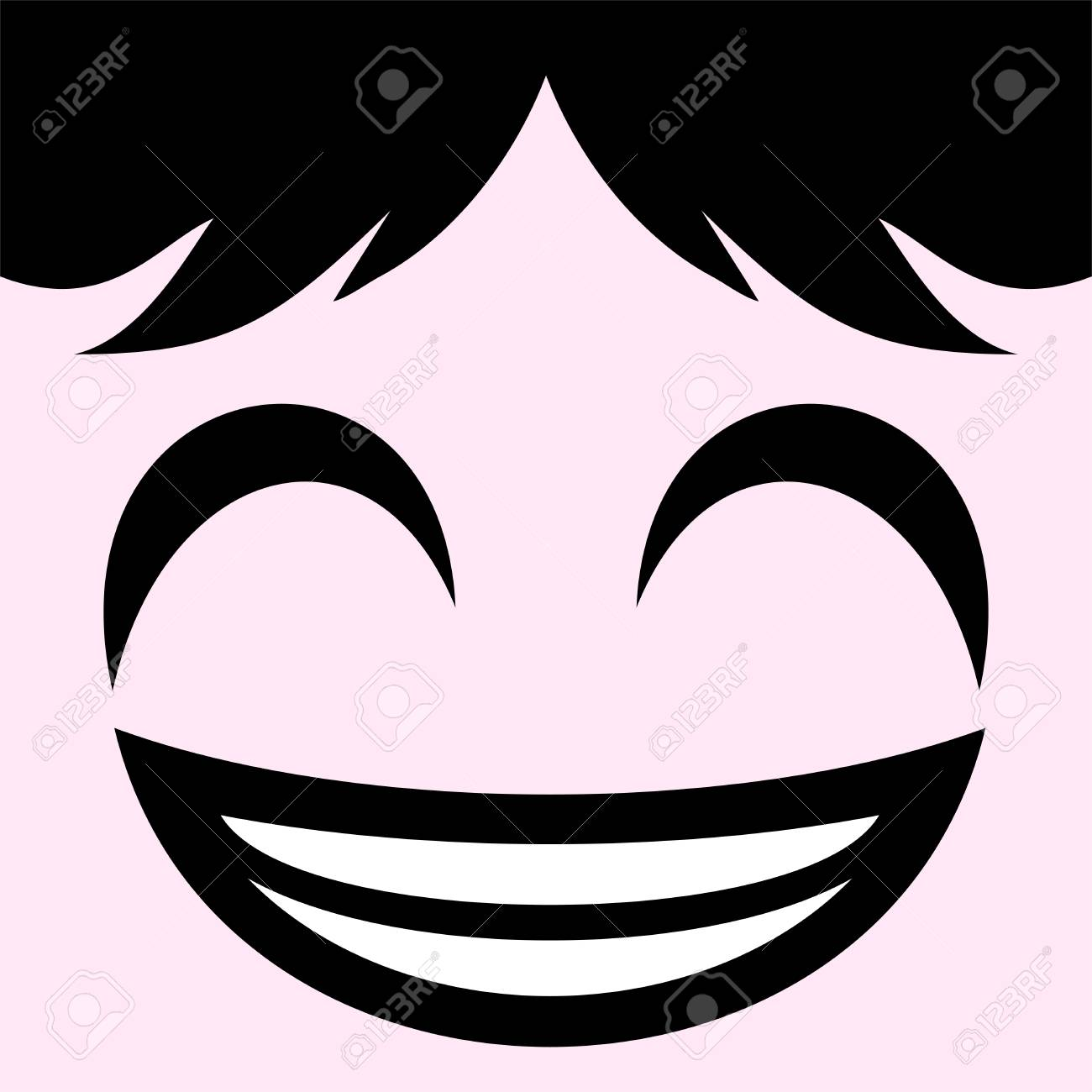 happy face draw royalty free cliparts vectors and stock
