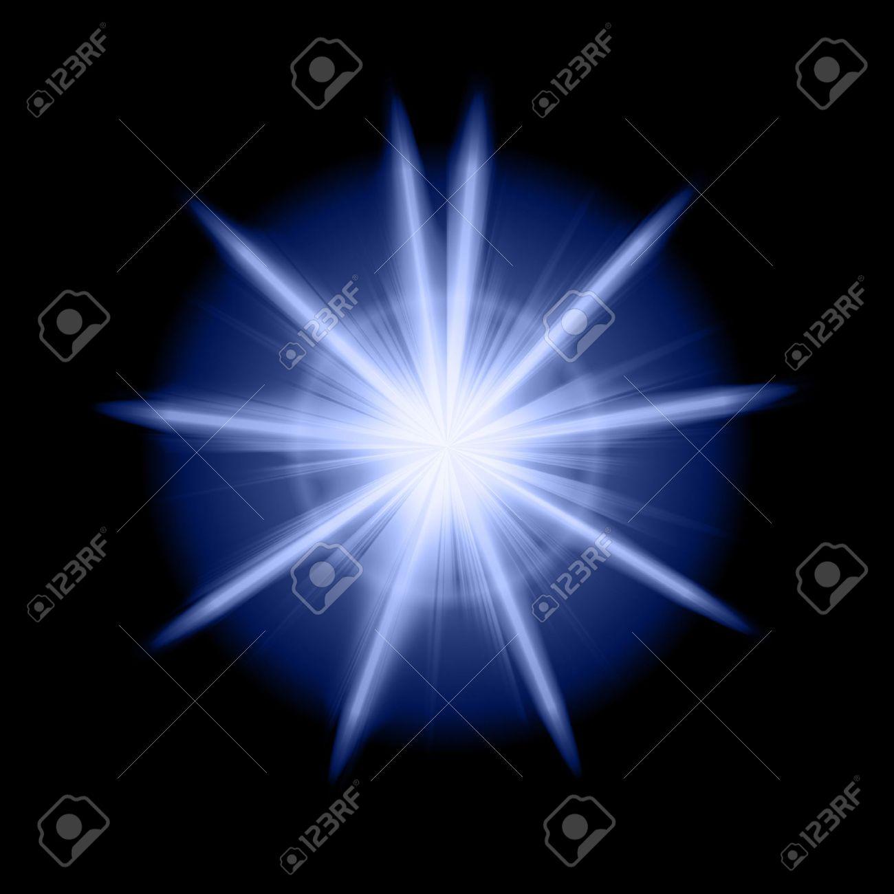 blue star Stock Photo - 9906022