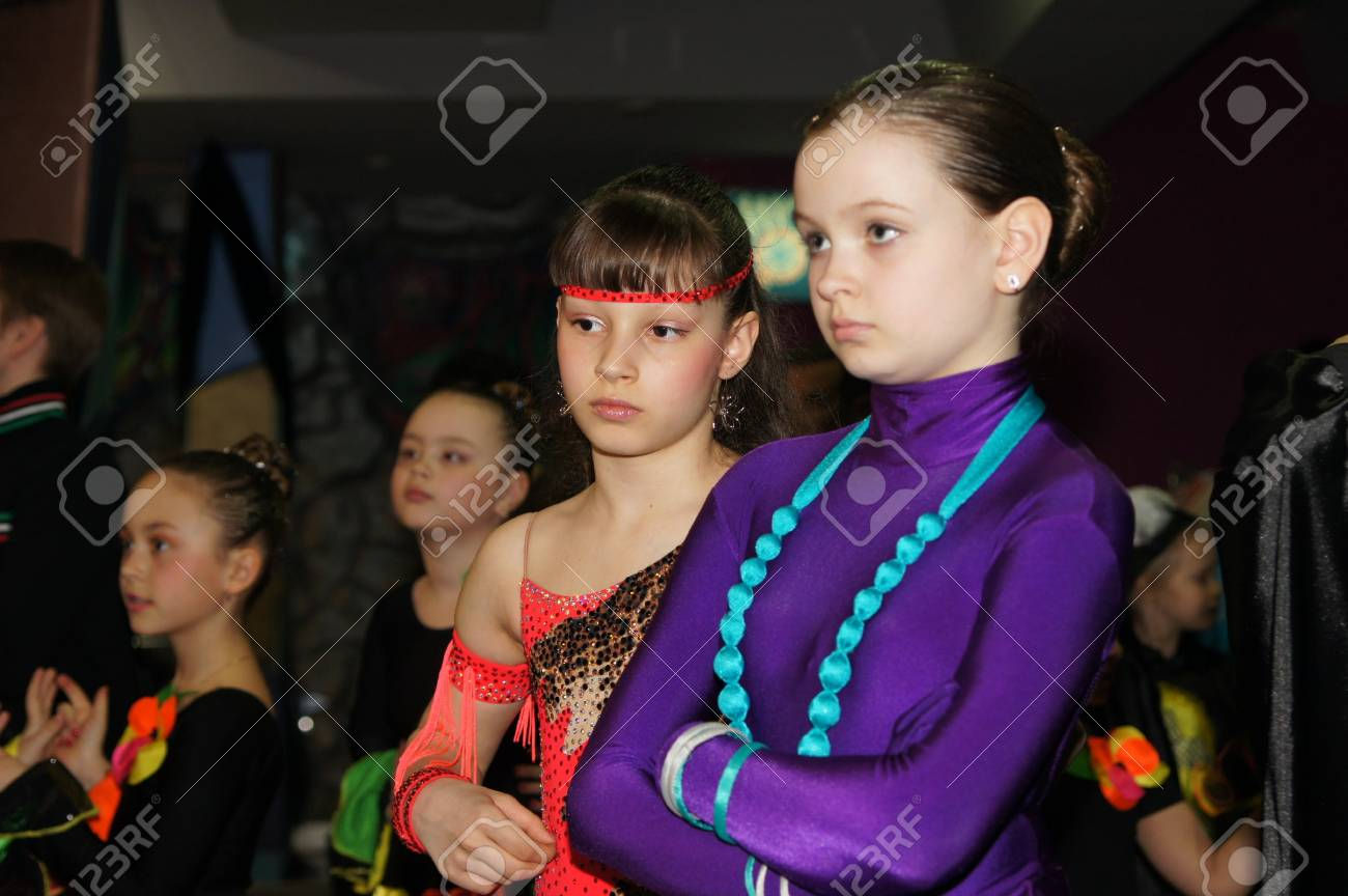 Participants Of Selection Round Traditional Festival Youthful Creativity On April 23 2011 In Moscow