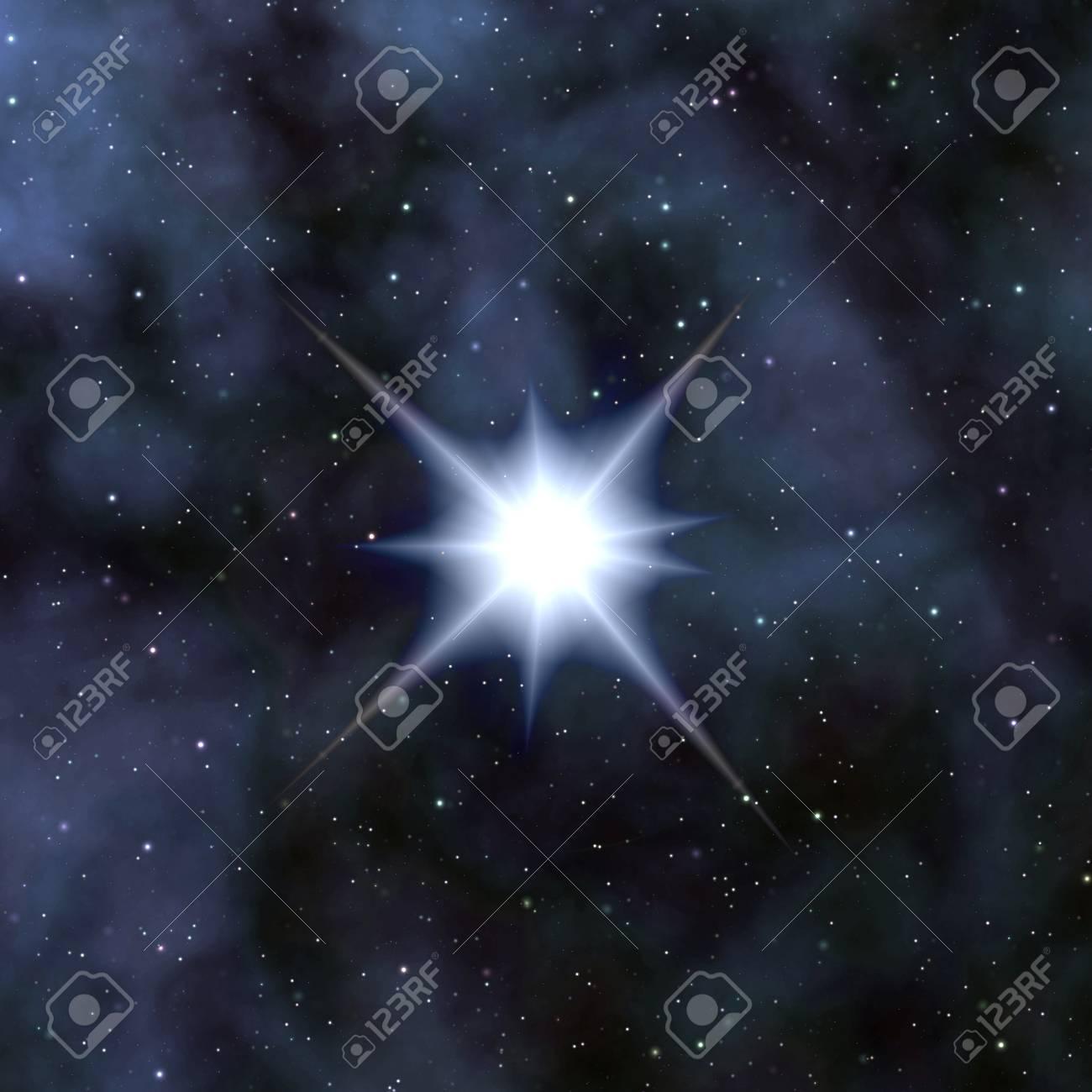 Stars in the night sky Stock Photo - 10742858