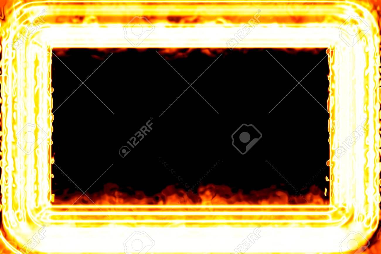 Fiery framework Stock Photo - 11127015
