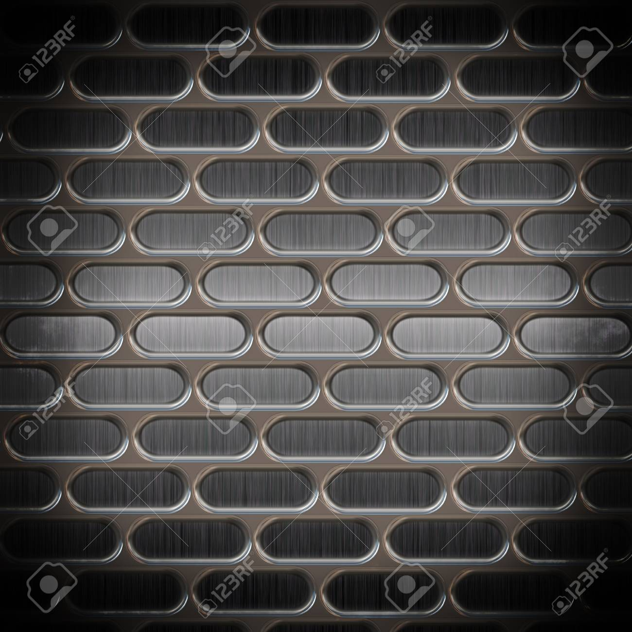 Metal texture with holes Stock Photo - 18517678