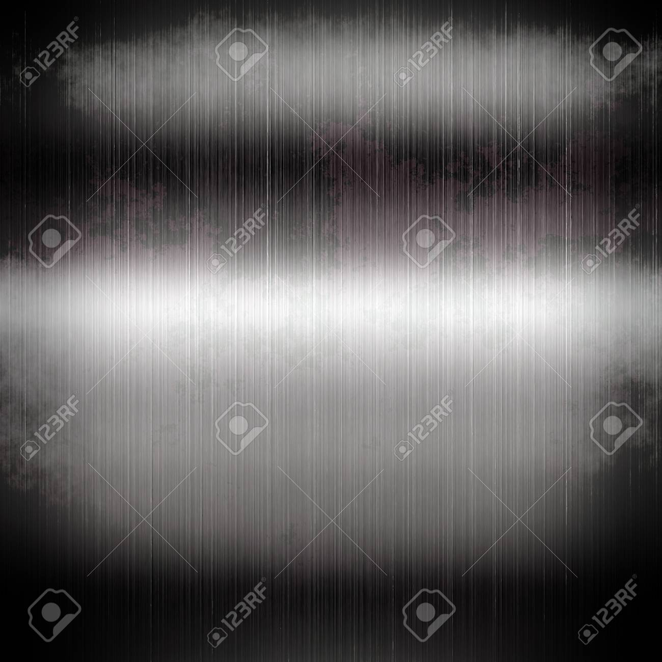 The abstract metal surface darkened at the edges Stock Photo - 18518397