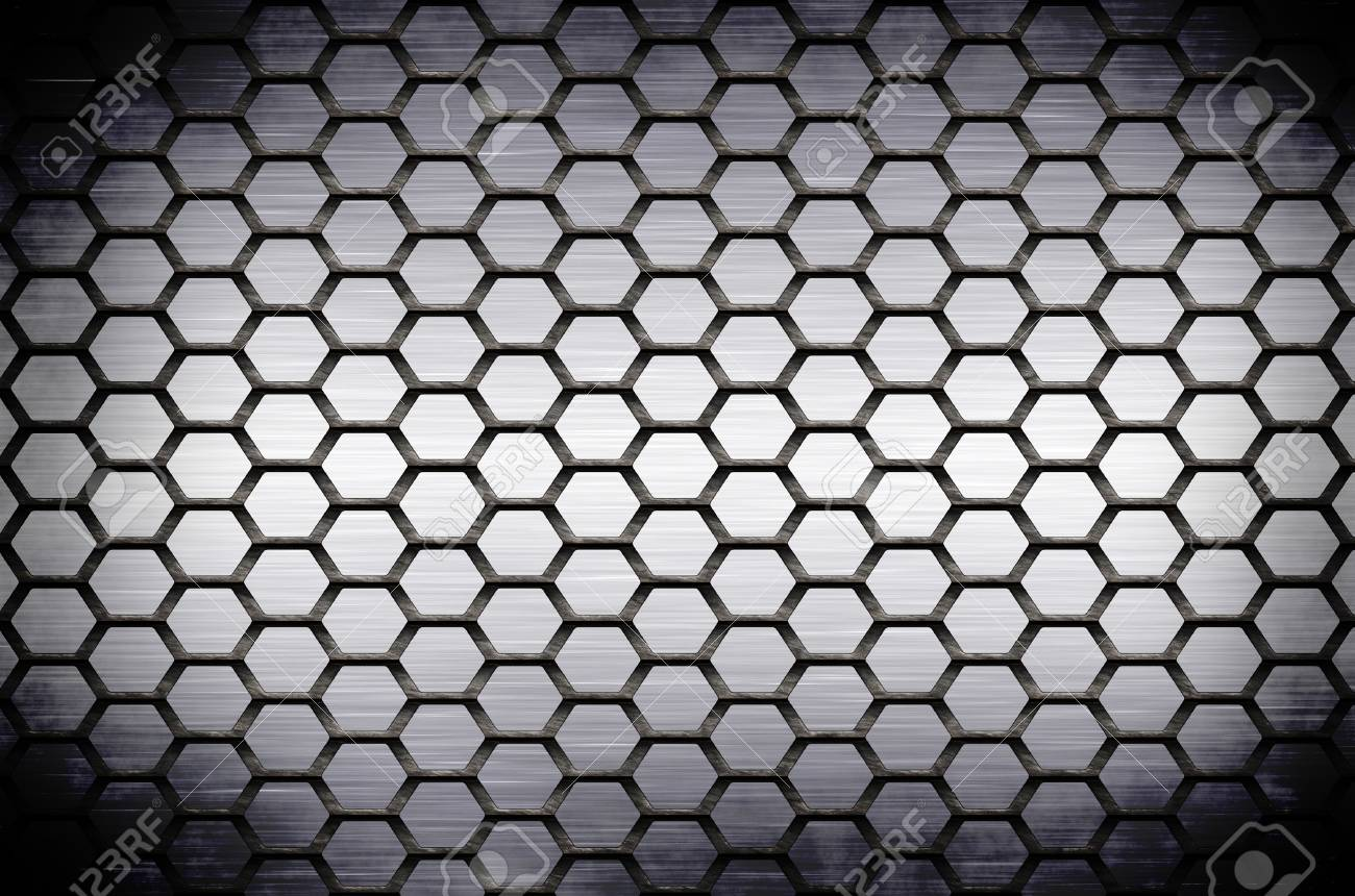 The abstract metal surface darkened at the edges Stock Photo - 18517621