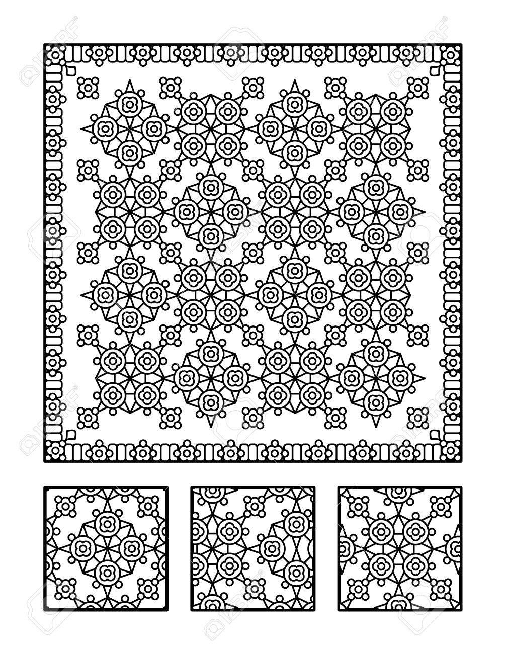 Großzügig Geometrische Muster Malvorlagen Für Kinder Zeitgenössisch ...