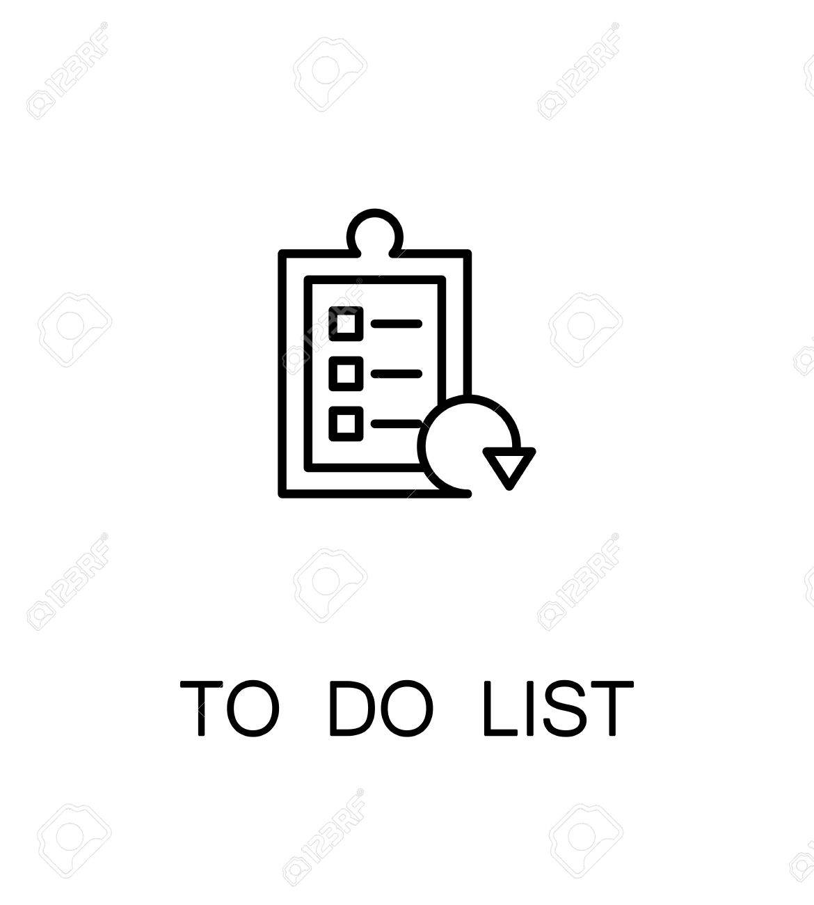 to do list clipart black and white