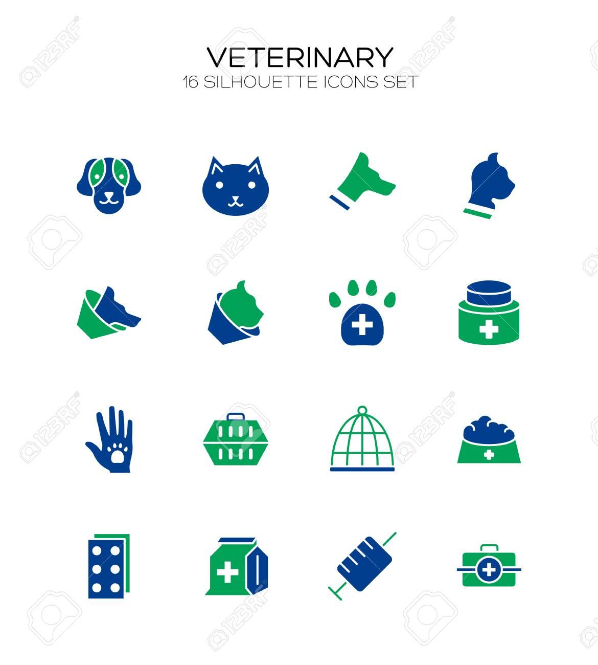 Vet icon set collection of veterinary line icons high quality vet icon set collection of veterinary line icons high quality logos of medical on biocorpaavc