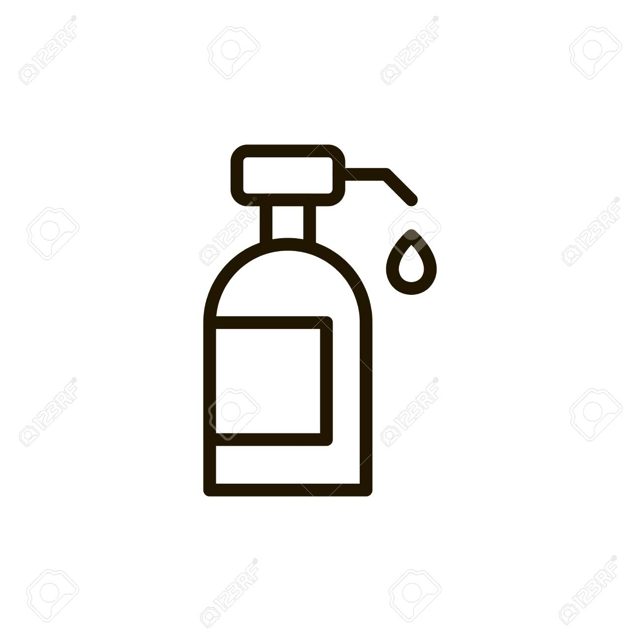 Soap Circle Flat Icon Single High Quality Outline Symbol Of Spa For