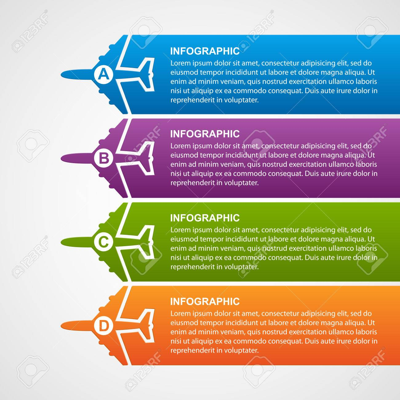 Airlines travel infographics. - 39644237