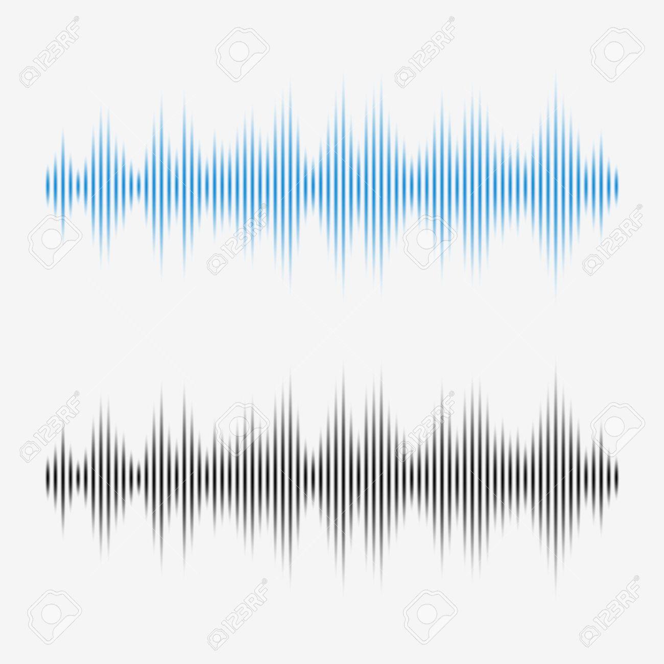 Vector sound waves. Music Digital Equalizer. - 45049094