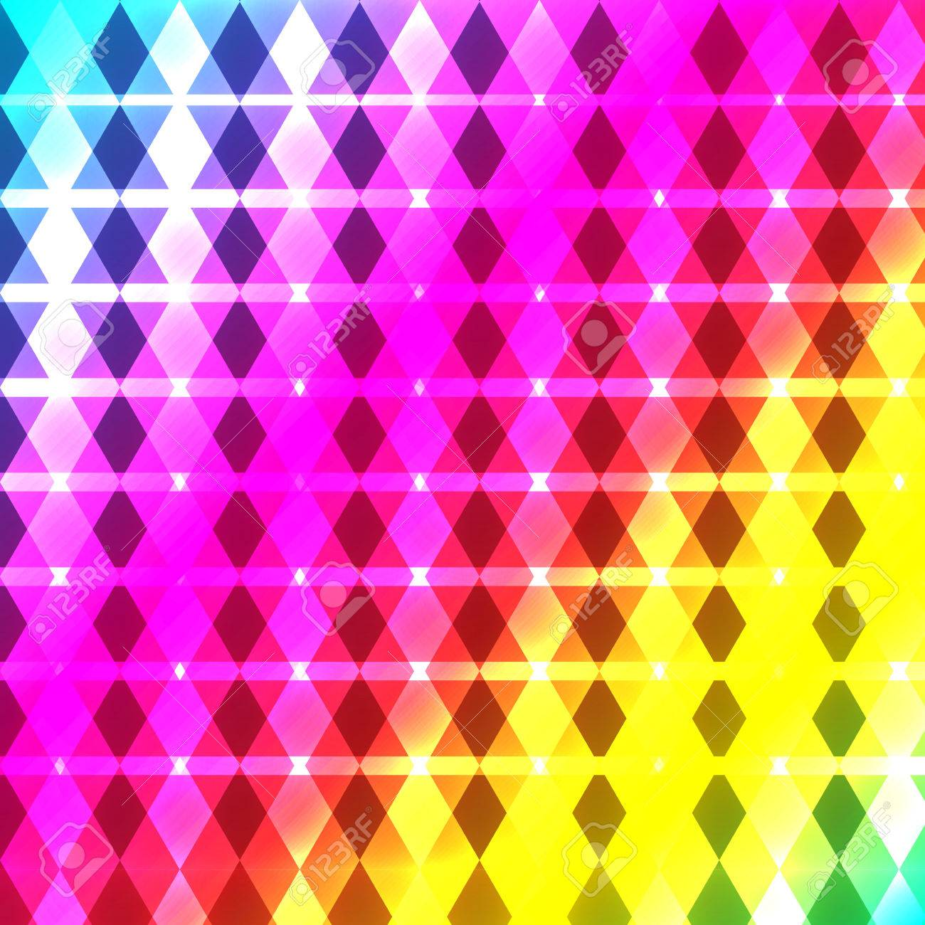 shiny abstract wallpaper in bright rainbow colors royalty free