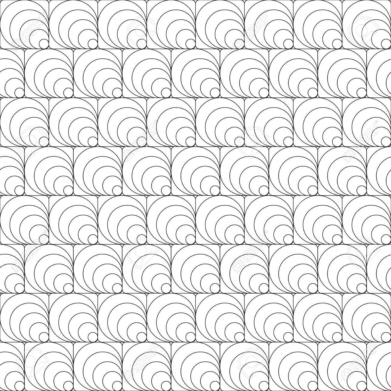 Simple Textura Transparente De Ornamentos Negros - Cuadrados Y ...