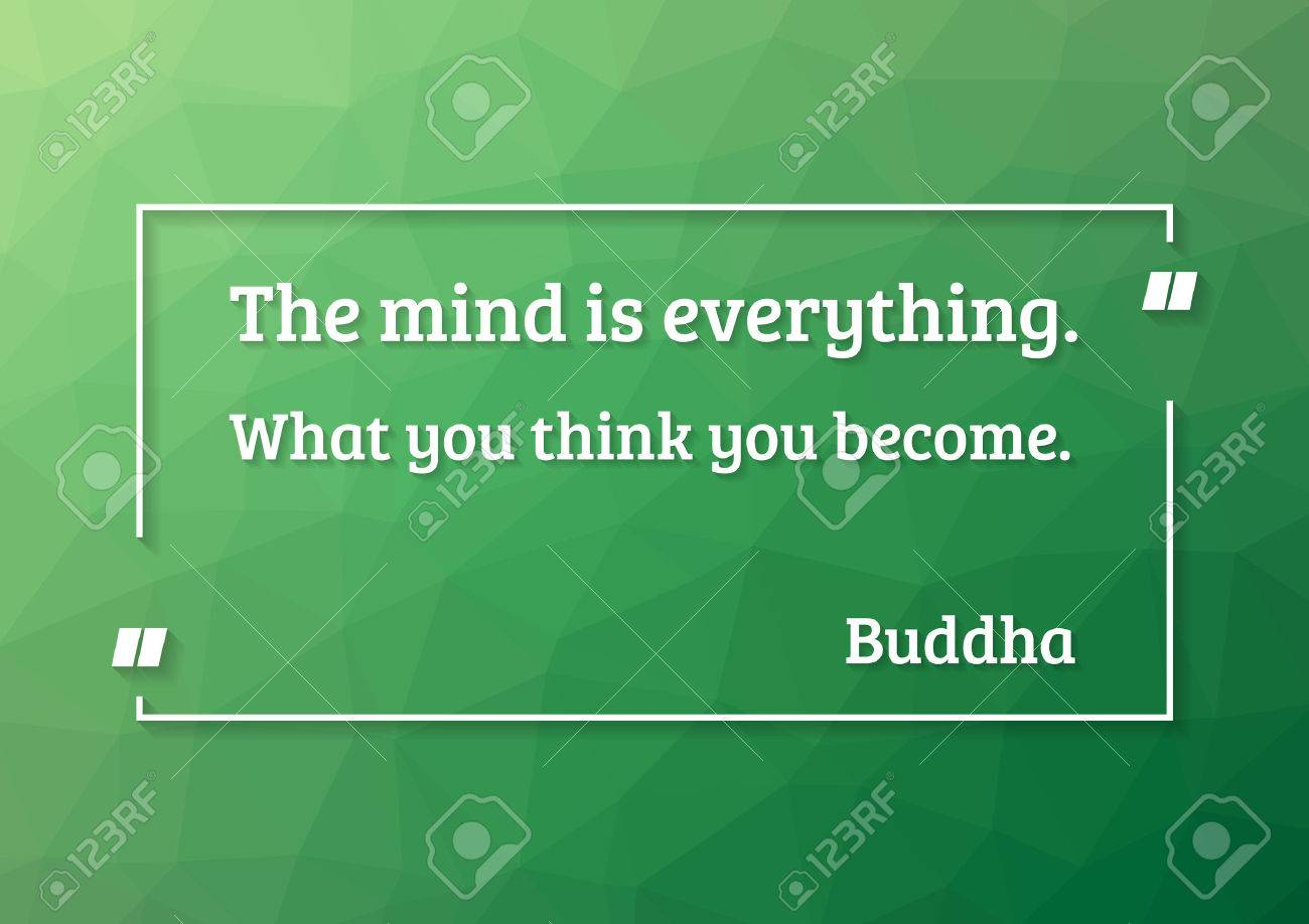 Buddha quote motivation poster - green in buddhism epitomizes the qualities of balance and harmony - 42923086