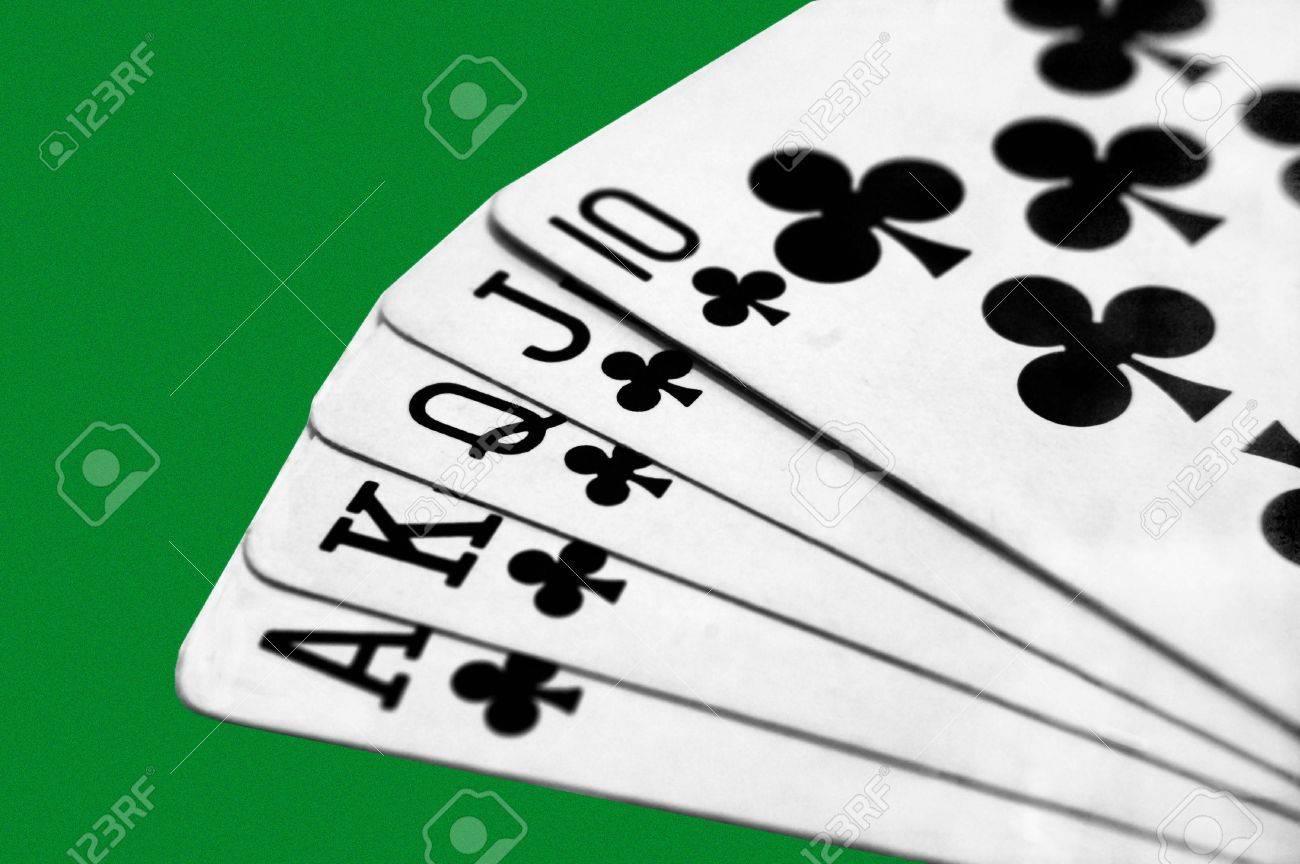 A 5 Card Draw Royal Flush Stock P O 3628376
