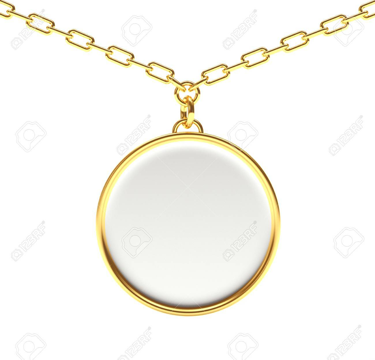 gold mens medallion pattern lion p of s picture tone necklace mariner chain pendant
