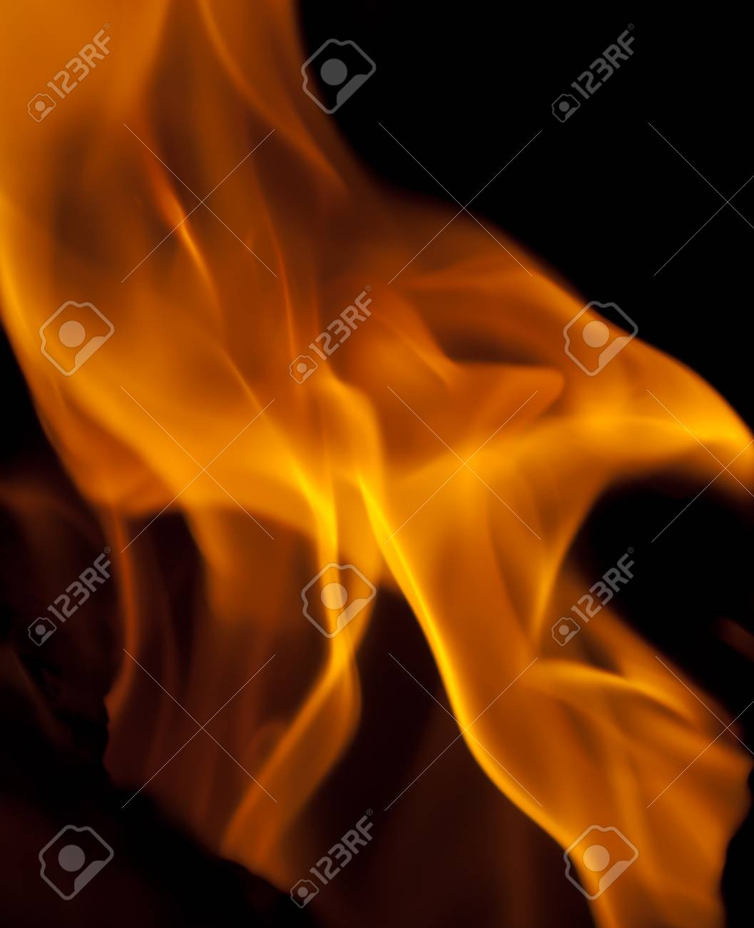 background from a fire, conflagrant firewoods and coals Stock Photo - 9271192