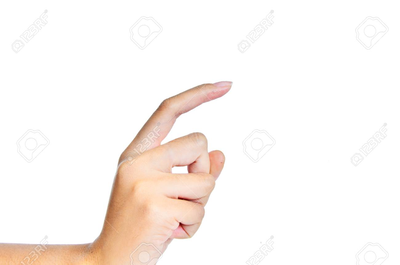 one finger Stock Photo - 16969241