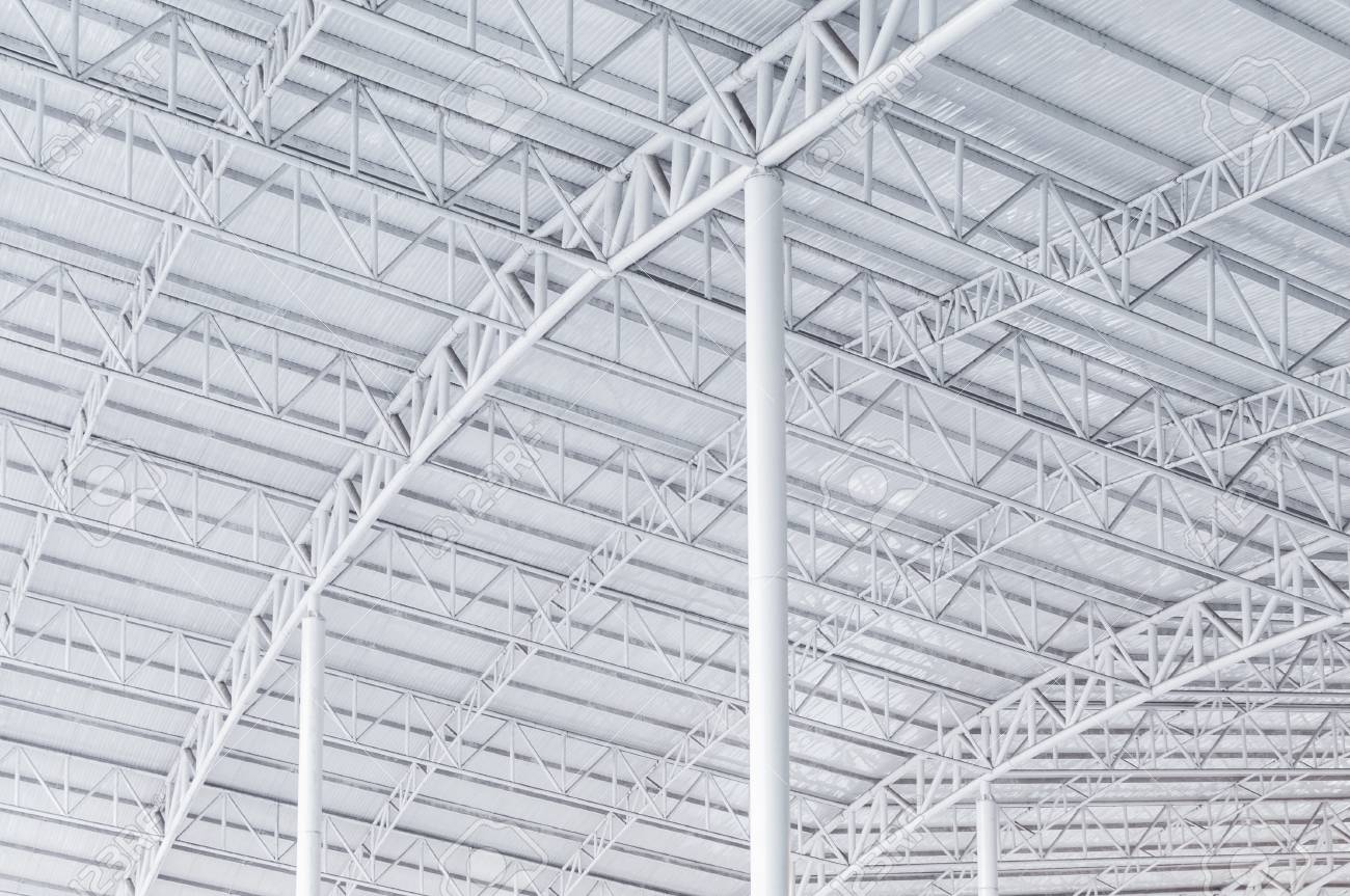 Large Steel Structure Truss Roof Frame And Metal Sheet In