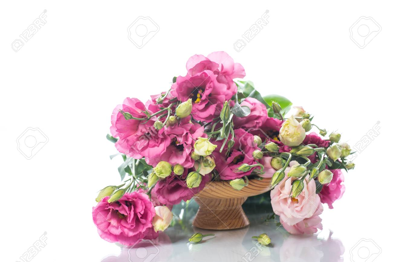 Beautiful bouquet of pink lisianthus flowers stock photo picture beautiful bouquet of pink lisianthus flowers stock photo 84576230 mightylinksfo