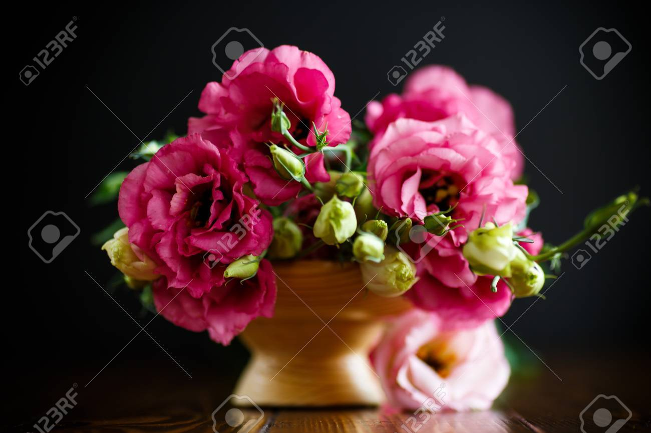 Beautiful bouquet of pink lisianthus flowers stock photo picture beautiful bouquet of pink lisianthus flowers stock photo 87407325 mightylinksfo