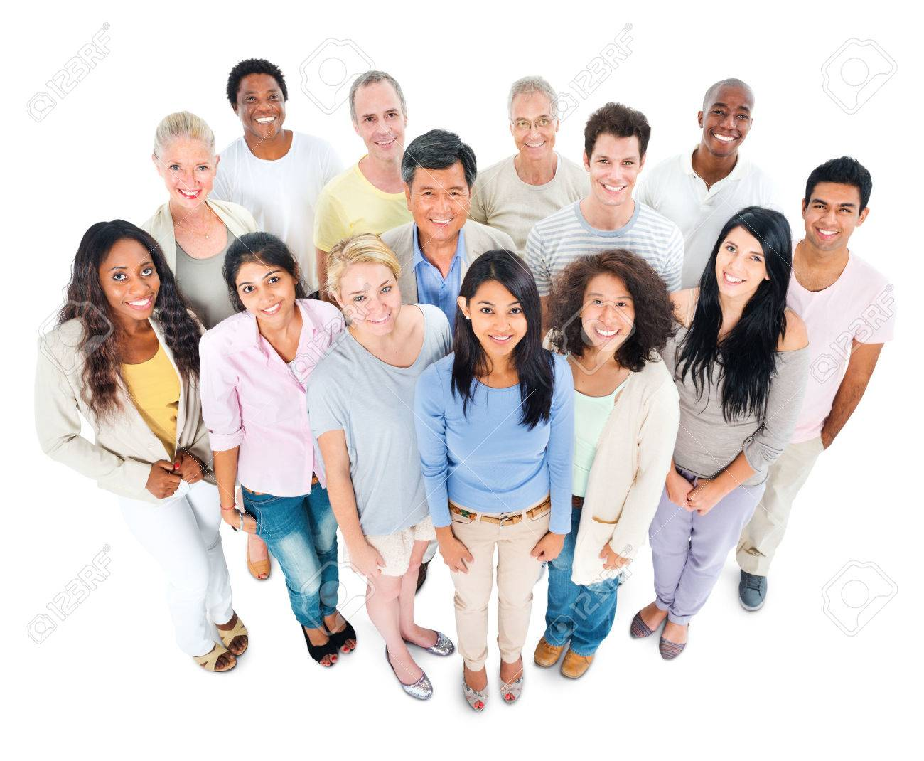 Large Group of People - 31293255