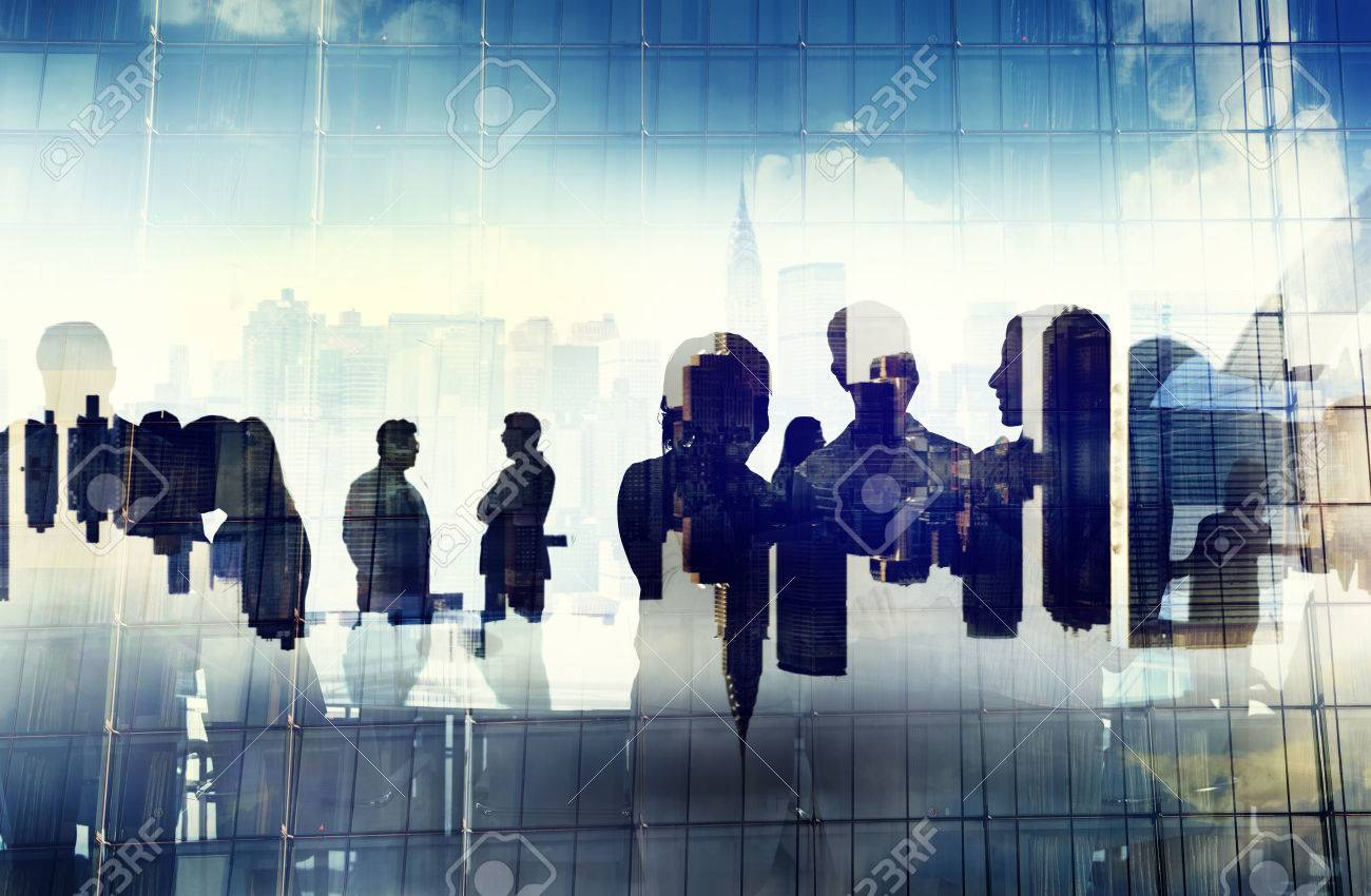 Business People Working and Urban Scene Stock Photo - 34402915
