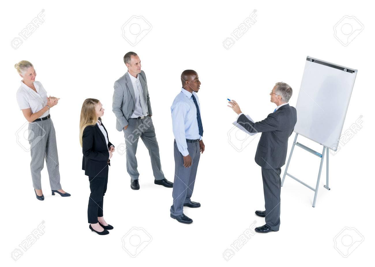 Gruppe Geschäftsleute Die Karriere Machen Ist Ganz Geschäftsmann