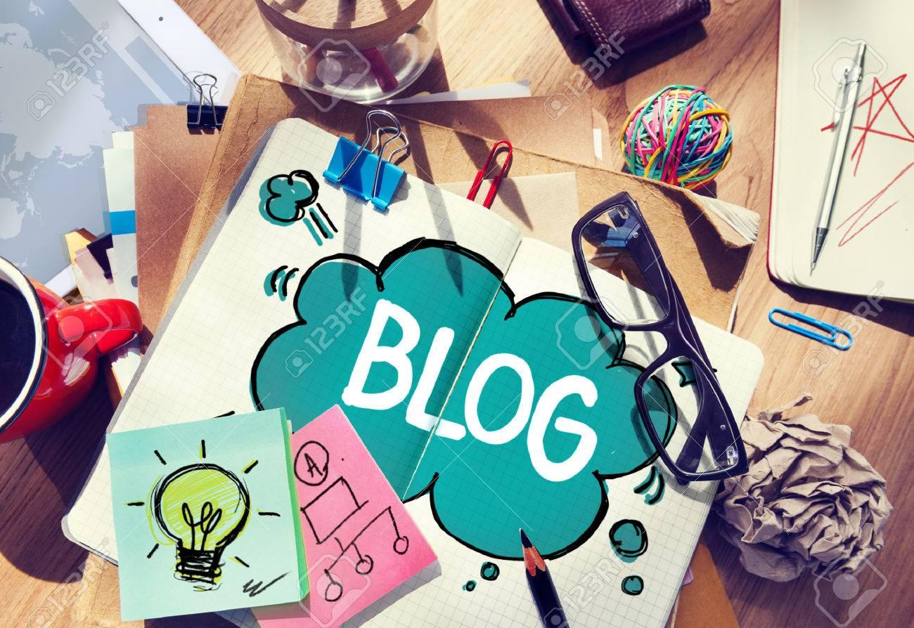 Social Media Connecting Blog Communication Content Concept - 38514120