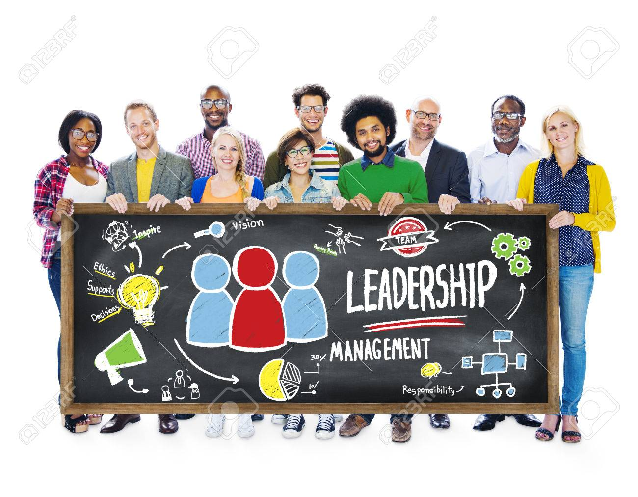 diversity casual people leadership management banner team support