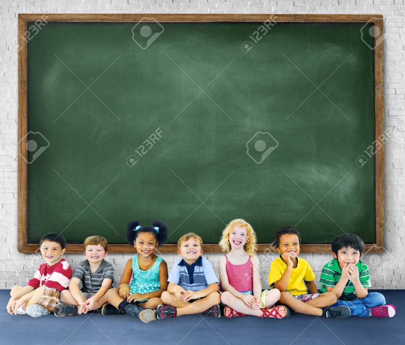 Children Kids Education Learning Cheerful Concept Stock Photo ...