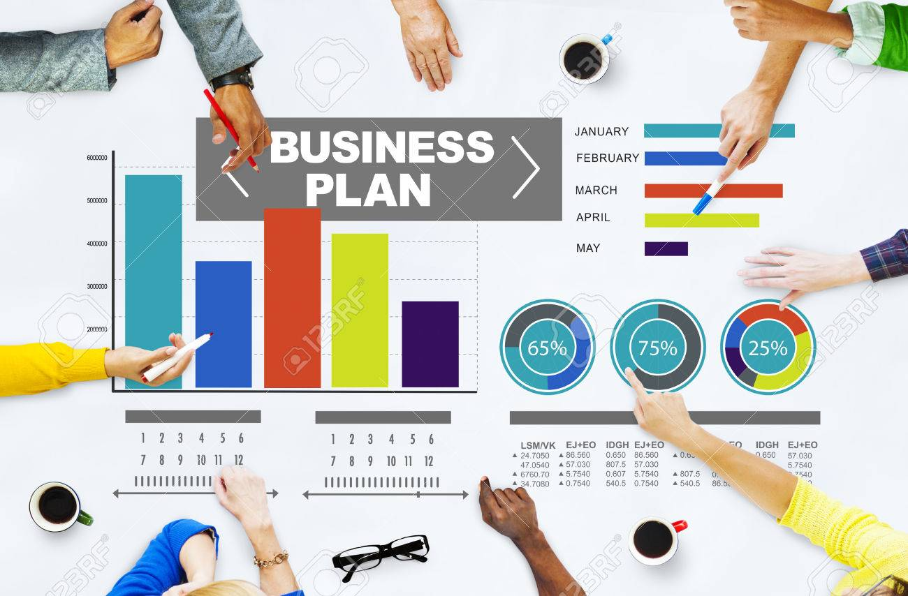 business plan graph brainstorming strategy idea info concept stock