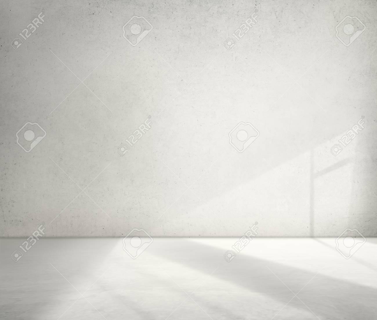 コンクリートの部屋コーナー影セメント壁紙概念 の写真素材 画像素材