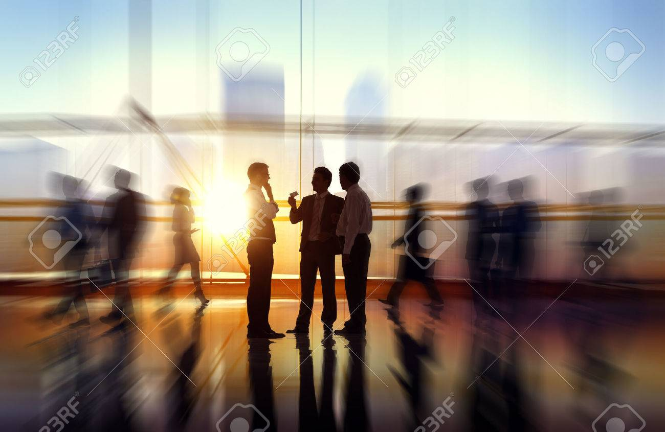 Business People Meeting Seminar Corporate Office Concept Stock Photo - 41063944