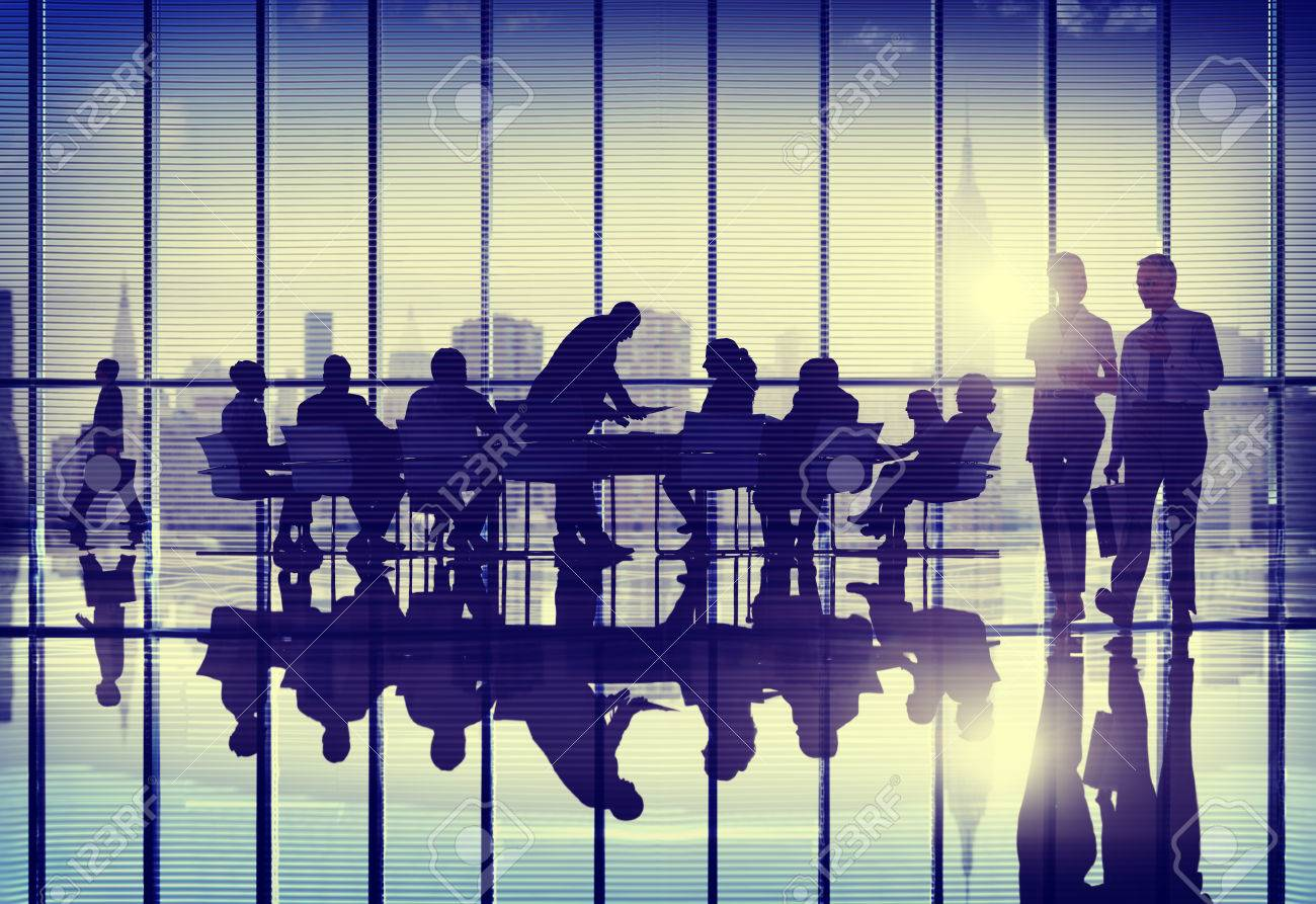 Business People Meeting Working Teamwork Concept Stock Photo ...