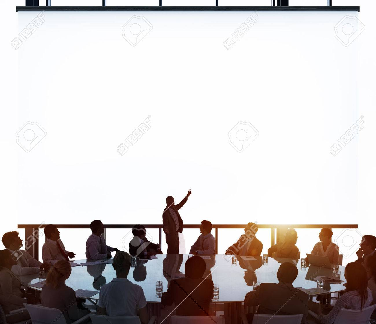 Meeting Room Business Meeting Leadership COncept Stock Photo - 41342905