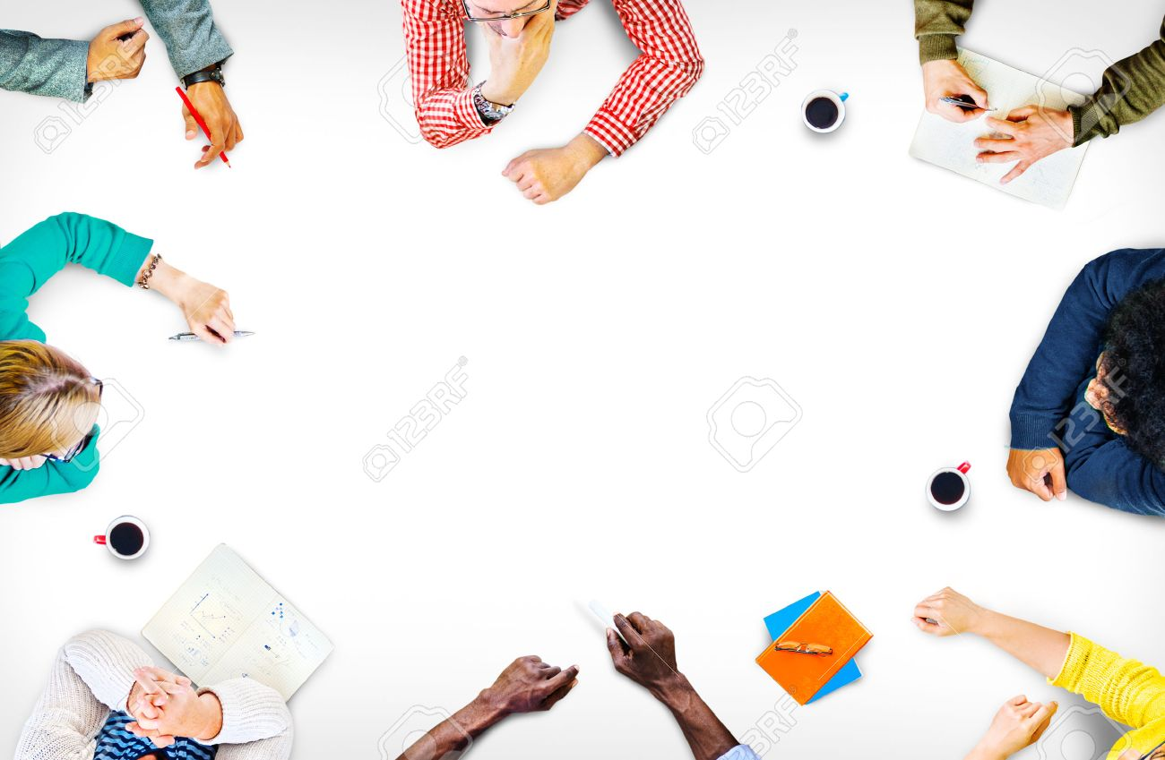 Team Teamwork Discussion Meeting Planning Concept Stock Photo - 41338245