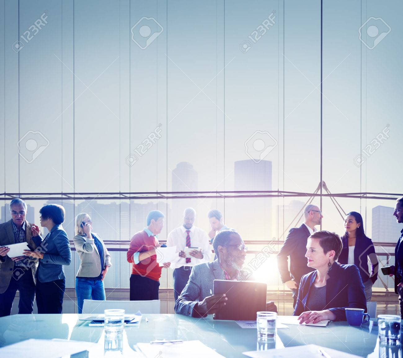 Business People Meeting Brainstorming Team Concept Stock Photo - 41340384