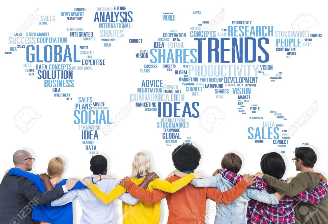 Trends world map marketing ideas social style concept stock photo trends world map marketing ideas social style concept stock photo 41398742 gumiabroncs Image collections