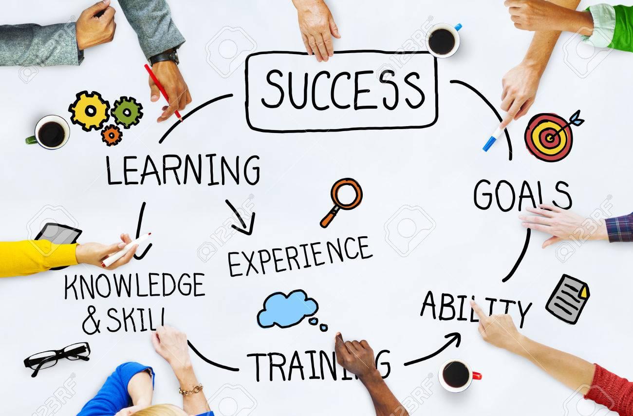 Success Goal Achievement Successful Complete Concept Stock Photo
