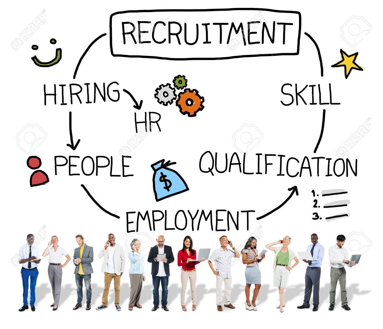 recruitment hiring skill qualification job concept stock photo recruitment hiring skill qualification job concept stock photo 42883237