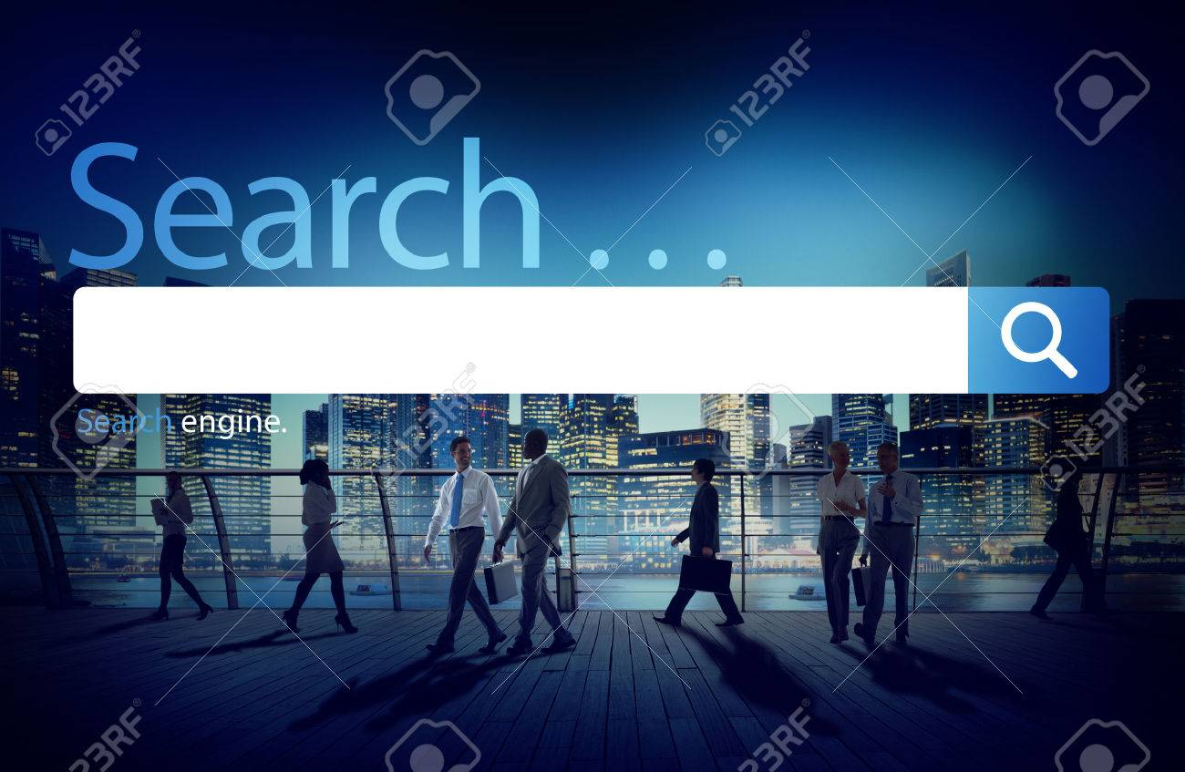 Search Seo Online Internet Browsing Web Concept Stock Photo ...