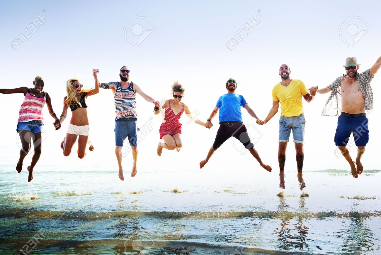 summer fun with friends