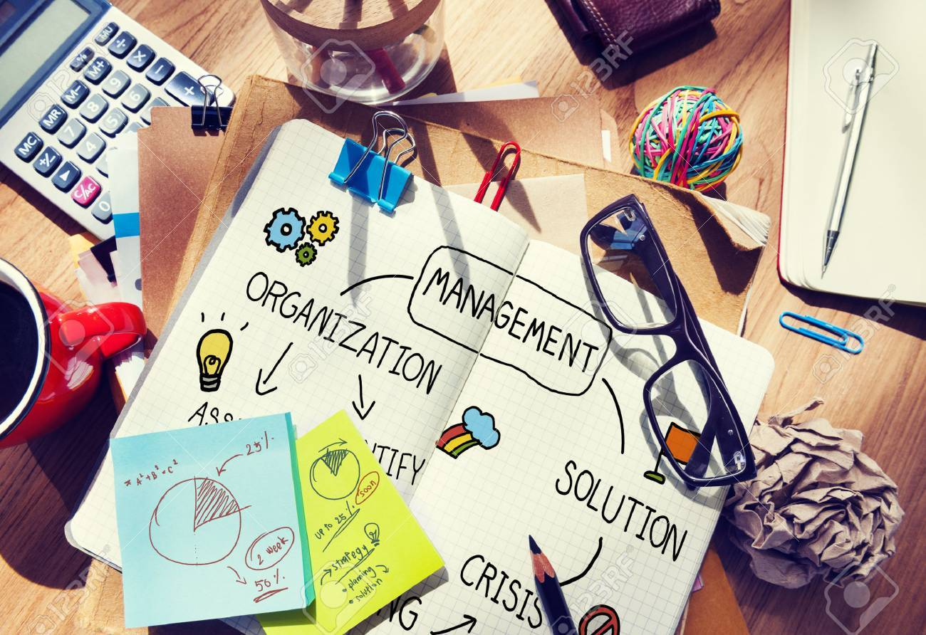 Management Solution Planning Organization Authority Concept - 45627092